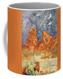 Starry Night In The Desert Coffee Mug