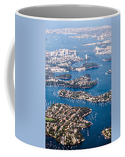 Coffee Mug featuring the photograph  Sydney Vibes by Parker Cunningham