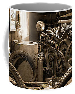 The Motorcycle Shop Coffee Mug