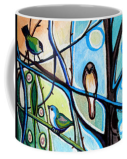 Three Birds Coffee Mug