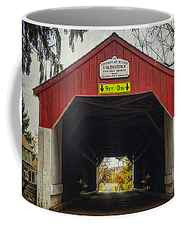 Uhlerstown Covered Bridge Iv Coffee Mug