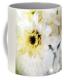 White Flower Coffee Mug