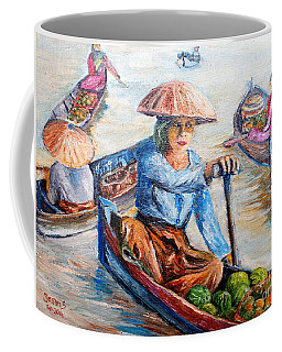 Women On Jukung Coffee Mug