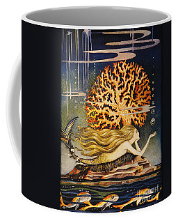 Coffee Mug featuring the painting Andersen: Little Mermaid by Granger
