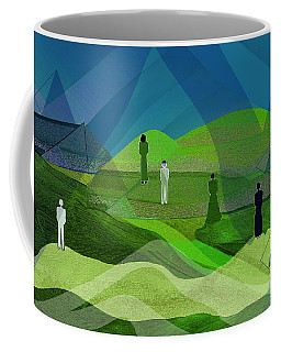 009  Human Figures In Landscape 2017 Coffee Mug