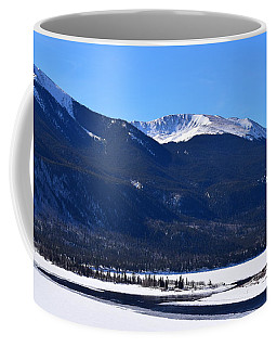 Coffee Mug featuring the photograph Twin Lakes Leadville Co by Margarethe Binkley