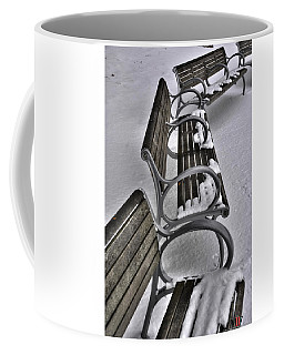 Coffee Mug featuring the photograph 01 Patience Keeps Me Waiting by Michael Frank Jr