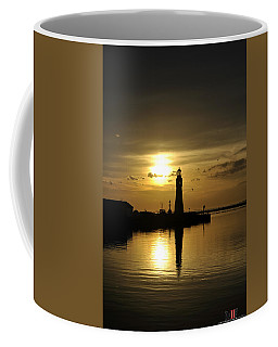 01 Sunsets Make You Happy Coffee Mug by Michael Frank Jr