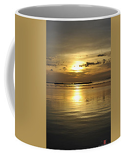 010 Sunsets Make You Happy Coffee Mug by Michael Frank Jr