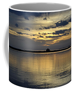 012 Sunsets Make You Happy Coffee Mug by Michael Frank Jr