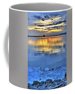 Coffee Mug featuring the photograph 013 Sunsets Make You Happy by Michael Frank Jr