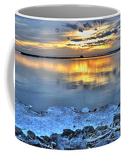 014 Sunsets Make You Happy Coffee Mug by Michael Frank Jr