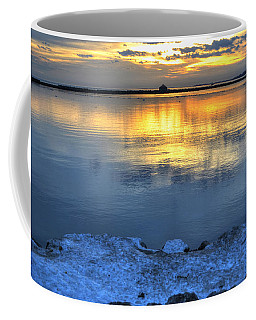 Coffee Mug featuring the photograph 015 Sunsets Make You Happy by Michael Frank Jr