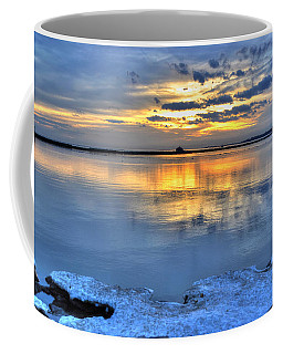 Coffee Mug featuring the photograph 016 Sunsets Make You Happy by Michael Frank Jr