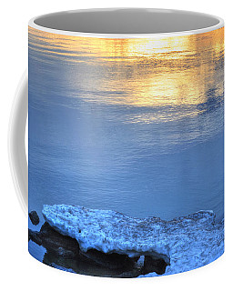 017 Sunsets Make You Happy Coffee Mug by Michael Frank Jr