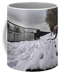 Coffee Mug featuring the photograph 02 Patience Keeps Me Waiting by Michael Frank Jr