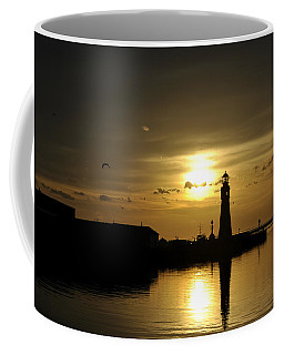 02 Sunsets Make You Happy Coffee Mug by Michael Frank Jr