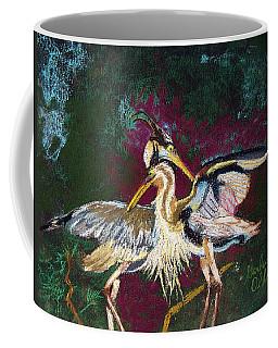 021916 Blue Heron's Dance Coffee Mug
