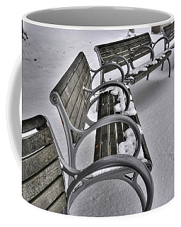 Coffee Mug featuring the photograph 03 Patience Keeps Me Waiting by Michael Frank Jr