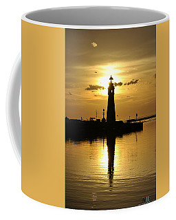 03 Sunsets Make You Happy Coffee Mug by Michael Frank Jr