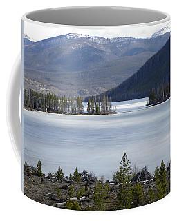 Coffee Mug featuring the photograph Granby Lake Rmnp by Margarethe Binkley
