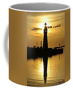 Coffee Mug featuring the photograph 04 Sunsets Make You Happy by Michael Frank Jr