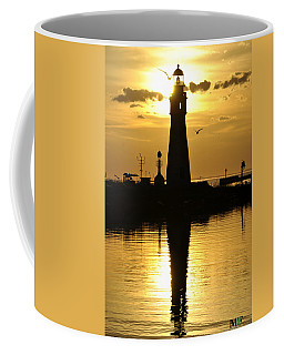 Coffee Mug featuring the photograph 05 Sunsets Make You Happy by Michael Frank Jr