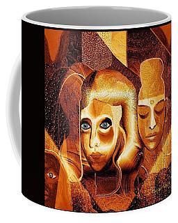 053 - Golden People A Coffee Mug