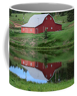 Red Barn Burgess Res Divide Co Coffee Mug