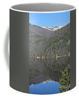 Chambers Lake Reflection Hwy 14 Co Coffee Mug