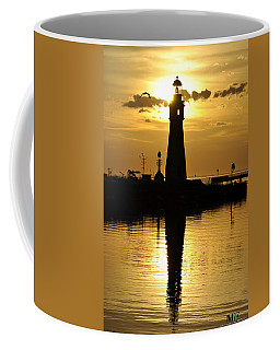 06 Sunsets Make You Happy Coffee Mug by Michael Frank Jr