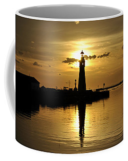 07 Sunsets Make You Happy Coffee Mug by Michael Frank Jr