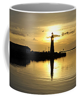 08 Sunsets Make You Happy Coffee Mug by Michael Frank Jr