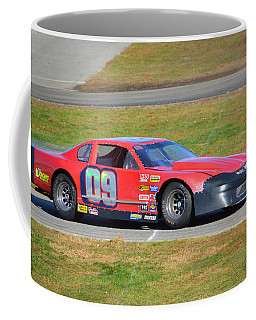 Coffee Mug featuring the photograph 09 On Pit Lane by Mike Martin