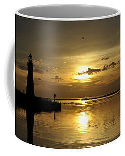 09 Sunsets Make You Happy Coffee Mug by Michael Frank Jr