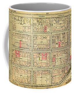 1927 Inwood Map  Coffee Mug