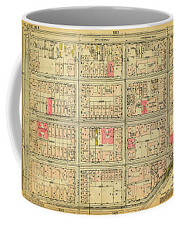 1927 Inwood Map  Coffee Mug