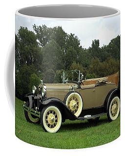 1931 Ford Model A Roadster Coffee Mug by Tim McCullough