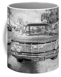 1961 Chevrolet Impala Ss Bw Coffee Mug by Rich Franco