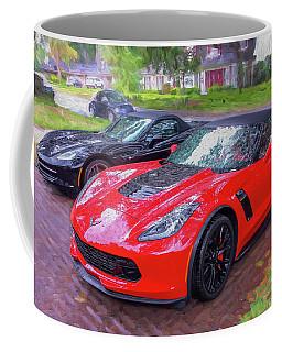 2017 Chevrolet Corvette Zo6 Painted  Coffee Mug