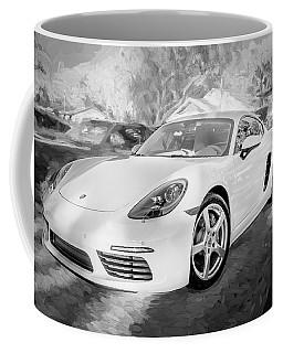 2017 Porsche Cayman 718 S  Bw    Coffee Mug
