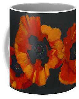 3 Poppies Coffee Mug