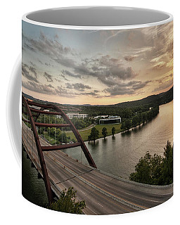 360 Bridge Sunset Coffee Mug