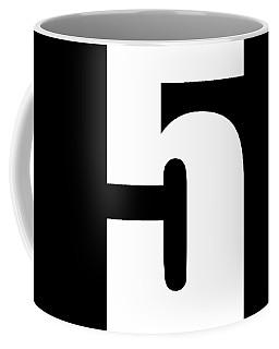5 Coffee Mug by Bill Owen