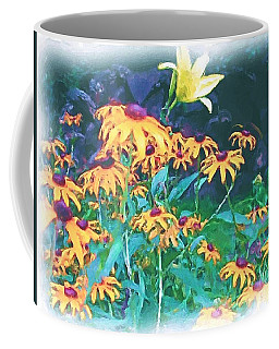 Coffee Mug featuring the painting A Lily In The Field by Patricia Griffin Brett