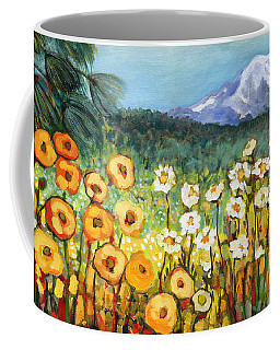 A Mountain View Coffee Mug