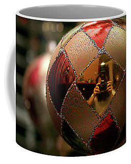 Coffee Mug featuring the photograph A Photographer's Christmas Greeting by Trish Mistric