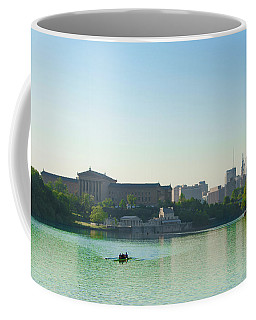 Coffee Mug featuring the photograph A Spring Morning In Philadelphia by Bill Cannon