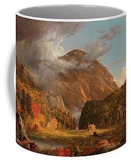 A View Of The Mountain Pass Called The Notch Of The White Mountains, Crawford Notch Coffee Mug