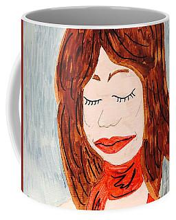 A Young Woman  Coffee Mug